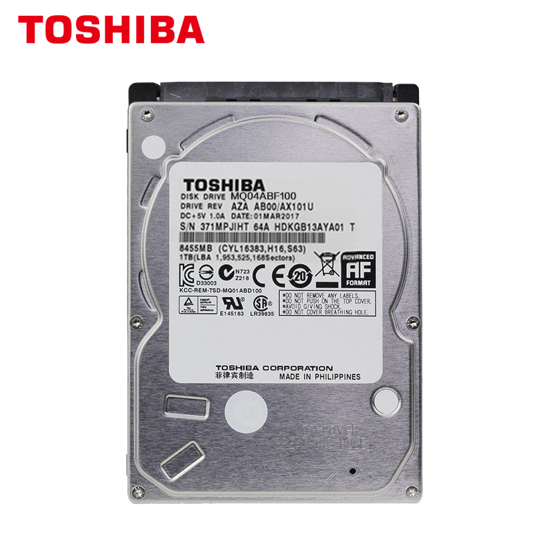 Image 2 - TOSHIBA Laptop Hard Drive Disk 1000G 1T Internal HDD HD 2.5 5400