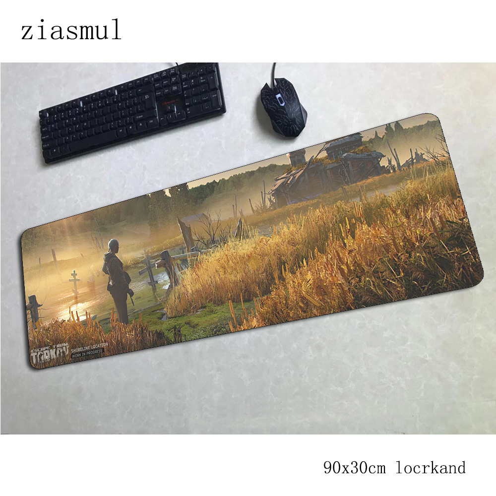 escape from tarkov mouse pad gamer large 90x30cm notbook mouse mat gaming mousepad Popular pad mouse PC desk padmouse mats