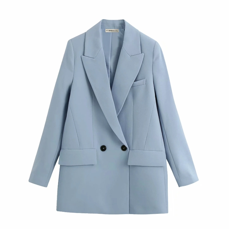 New 2020 Women Solid Color Blazer Office Lady Notched Collar Chic Long Sleeve Stylish Casual Outwear Brand Suit Coat Tops CT501