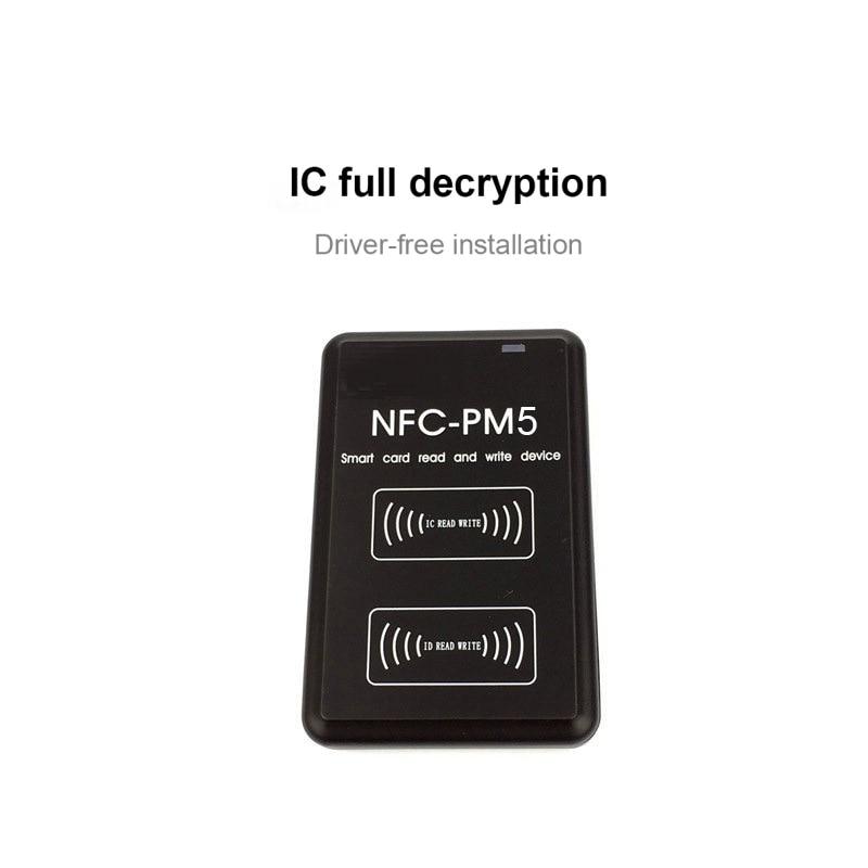 NEW PM5 Copier IC 13.56MHZ RFID Writer NFC Full Decode Function Reader Duplicator