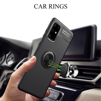 10 Pcs/lot For Samsung Galaxy S20 Plus Case Magnetic Car Ring Soft Silicone Protective Cover For Samsung Galaxy S20 Ultra S20+ фото