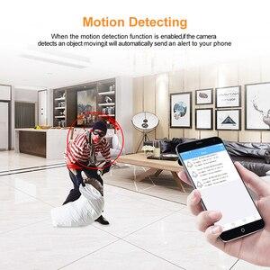 Image 4 - Мини Wi Fi камера HD 1080P микро видеокамера с будильником времени и дистанционным монитором, сеть ночного видения, умный мониторинг домашней безопасности