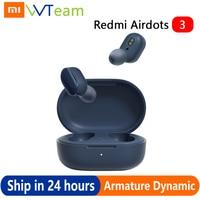 Xiaomi Redmi AirDots 3 auricolare AptX Hybrid vocalismo Wireless Bluetooth 5.2 Mi True Wireless Headset qualità del suono di livello CD