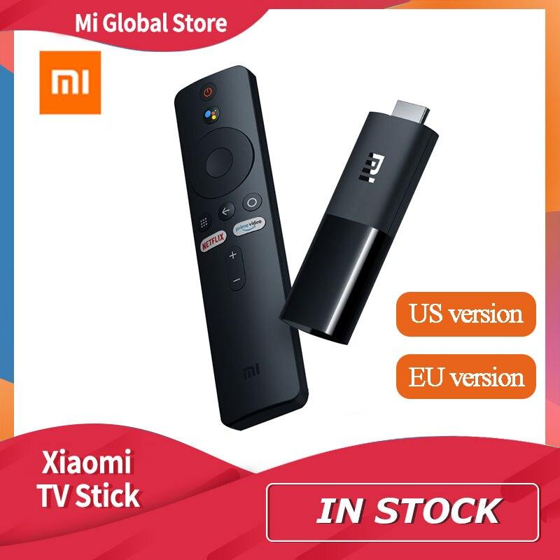 Xiaomi Mi TV Stick Original, Android TV 9,0, cuatro núcleos, 1080P, Dolby DTS, HD, decodificación Dual, 1GB de RAM, 8GB de ROM, asistente de Google, Netflix|Palo de TV|   -