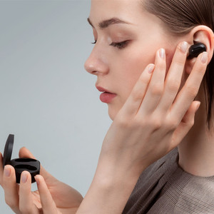 Image 4 - 2020 Xiaomi Redmi Airdots S אמיתי אלחוטי אוזניות קול בקרת Bluetooth 5.0 רעש הפחתת שליטה ברז טעינת תיבת Earbud