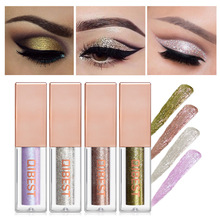 Shimmer Eyeshadow Glitter Liquid Metallic Professional-Eye Easy-To-Makeup Waterproof