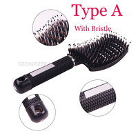 Colorful Durable Women's Styling Hair Brush