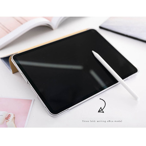 Image 5 - Trifold Case for iPad Air 3 2 2018 9.7 inch Mini 5 4 3 2 Flowing Sand Smart cover Case for ipad pro 12.9 2020 pro 11 10.5 9.7