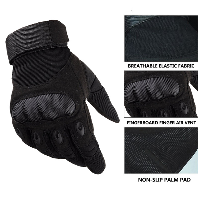 Motorcycle Leather Gloves 5