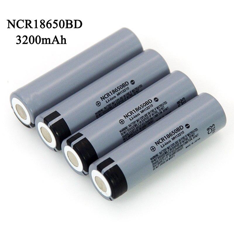 Batterie Rechargeable au lithium, 3200mAh 18650 3.7V, décharge 10A pour lampe de poche, nouveau