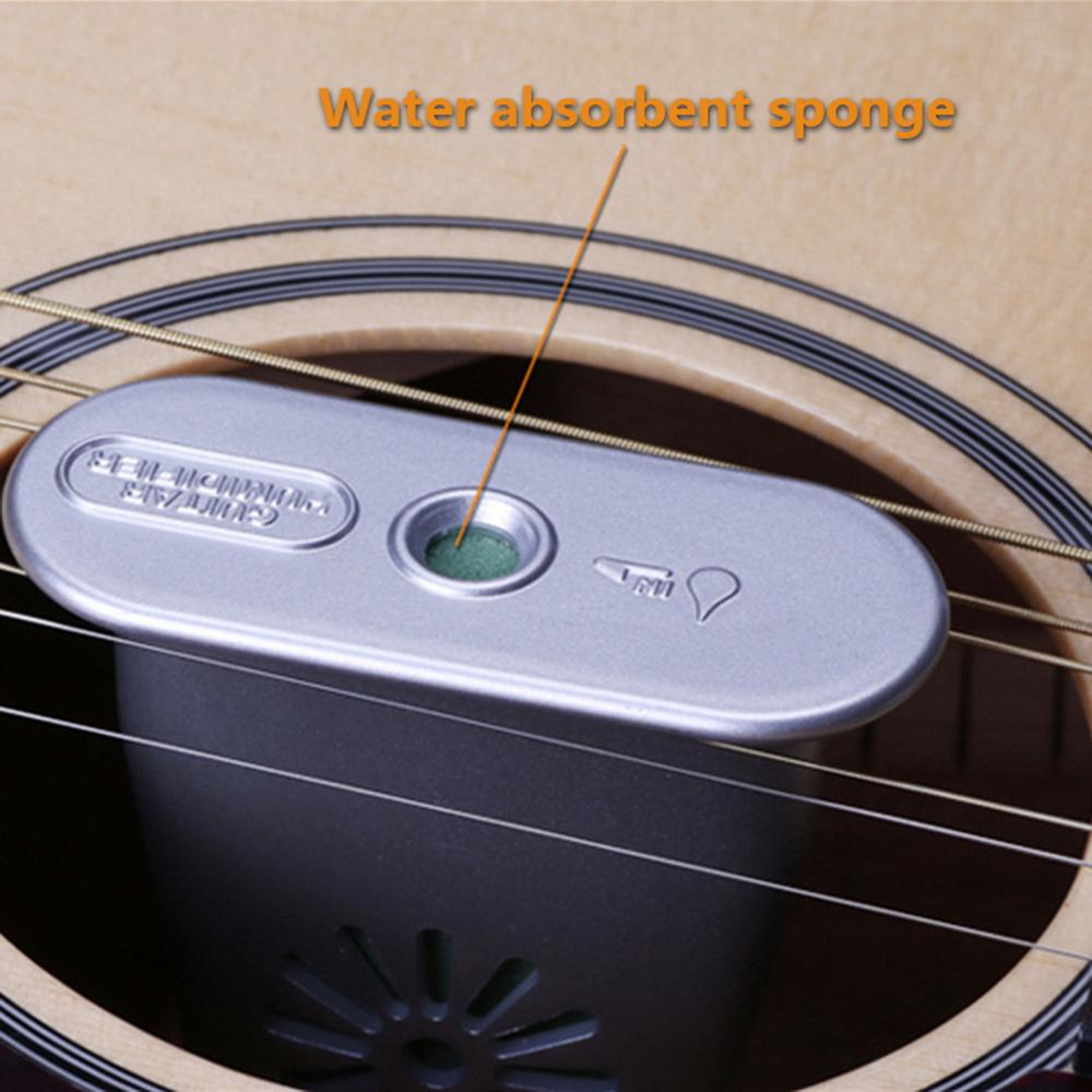 3 COLOR Guitar Sound Hole Humidifier Anti drying Anti panel Cracking Instrument Care Humidity Adjustment Guitar Accessories in Guitar Parts Accessories from Sports Entertainment