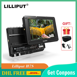 Lilliput H7S 7 Inch Op Camera Dslr Field Monitor 3D Lut 1800Nits Ips Fhd Video Focus Assist Ondersteuning 4K Hdmi 3G-SDI