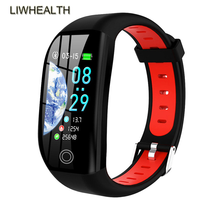 Color Swim Smart Band Watch HR/Blood Pressure Fitness Tracker Bracelet APP GPS Smartband For IOS/Xiaomi/Honor PK Mi Band 4/5 image