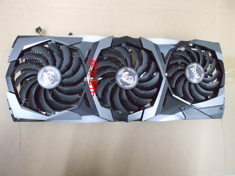 Original For RT2080 RTX2070 SUPER GAMING X TRIO 8G Graphics  Video Card Cooler Fan With Heat Sink