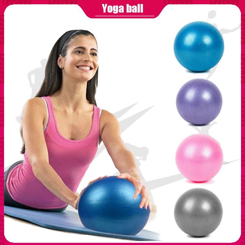Przeciwciśnienie przeciwwybuchowe 25 CM średnica joga ćwiczenia gimnastyka Pilates równowaga joga piłka siłownia trening domowy piłka do jogi