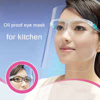 Vanzlife-Máscara de ojos a prueba de aceite para cocina, mascarilla protectora para salpicaduras de aceite, cocina