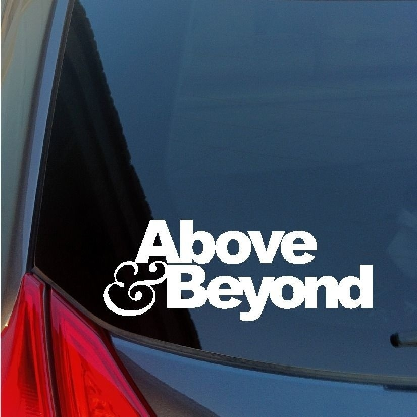 Blue A State of Trance Armin Van Buuren Car Window Sticker Styling Decal