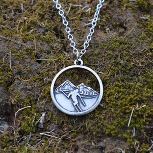 Image 5 - 10 шт горы вызов катание на лыжах ожерелье Зимний спорт Шарм