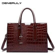 2019 Crocodile Leather Bag Women Alligator Shoulder Bags Luxury Handbags Designer Stone Ladies Hand Bolso Mujer