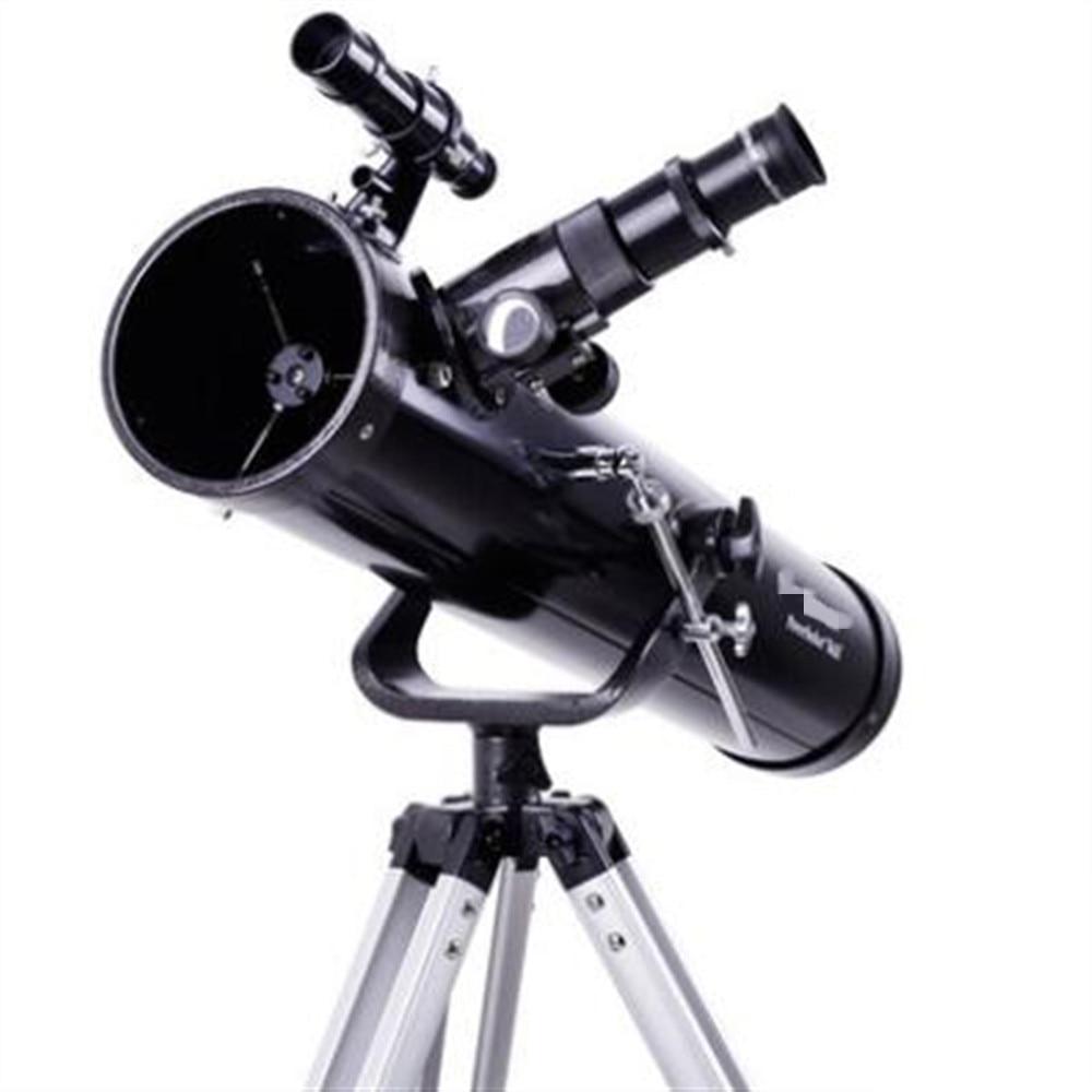 Astronomical Telescope Professional HD Stargazing Observation Students Beginners P76AZ