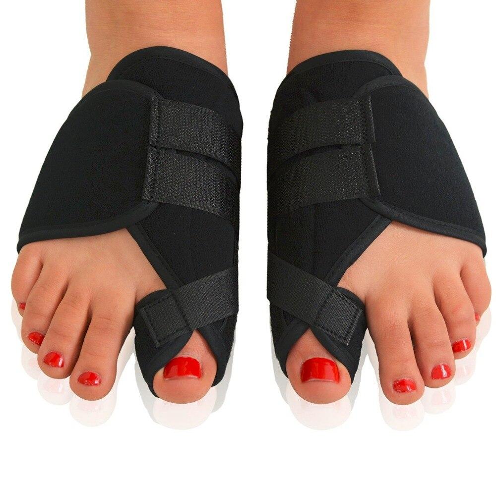 1 Pair Soft Bunion Corrector Toe Separator Splint Correction Medical Hallux Valgus Foot Care Pedicure Orthotics Tool