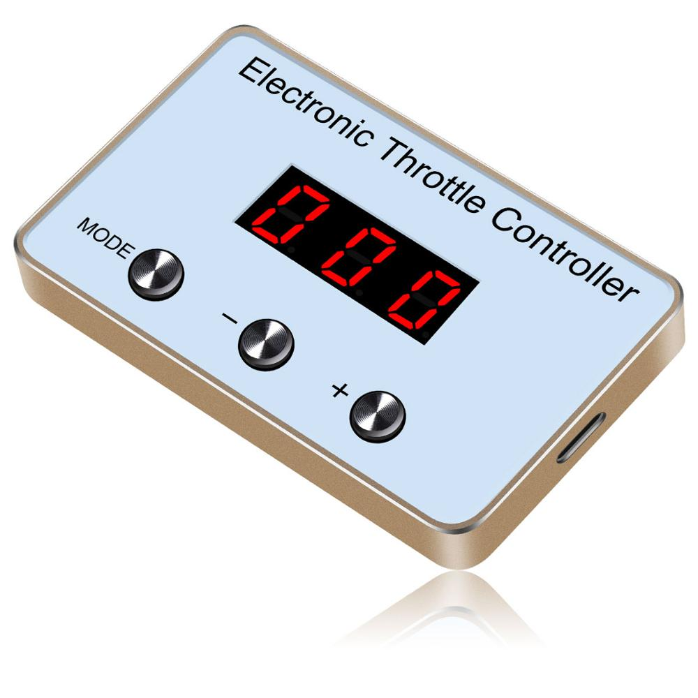 Car Speed up Car Electronic Throttle Controller Car Accessories Auto Pedal Booster Accelerator Commander for NISSAN March 2011+ Car Electronic Throttle Controller     - title=