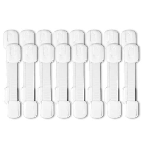 fechaduras de cinta de seguranca para criancas 16 pacote para frigorifico armarios gavetas maquina de