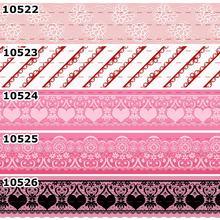 10 ярдов-разные размеры-модный кружевной узор цветной стиль напечатанная лента своими руками материалы