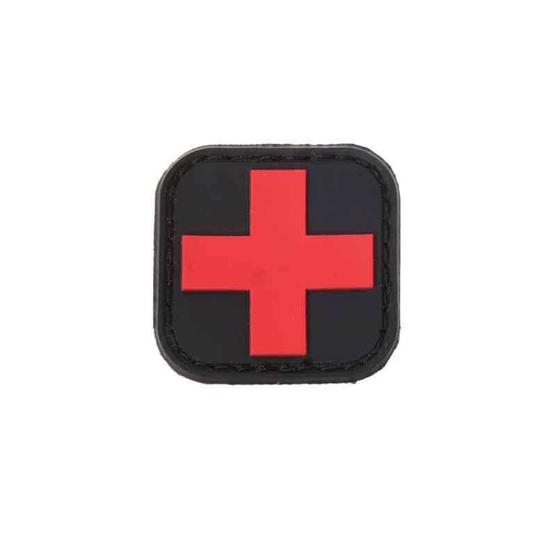 Тактическая повязка на руку Первая помощь для охоты на открытом воздухе медицинский значок для персонала Brassard Красный Крест Волшебная Наклейка ПВХ патч Morale аксессуары
