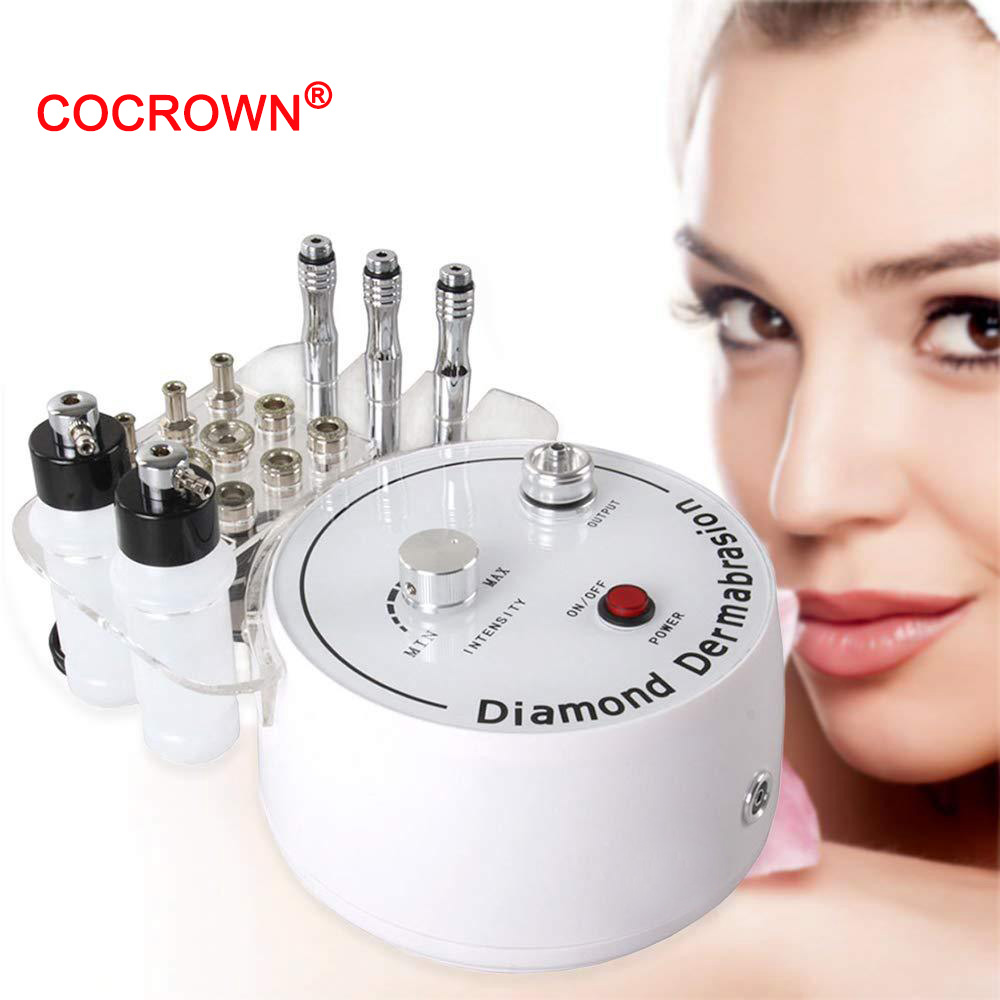 3 In1 Diamond Microdermabrasion Dermabrasion Machine Water Spray Exfoliation Beauty Machine Removal Wrinkle Facial Peeling Tools
