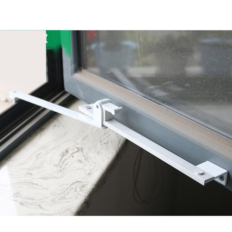 Wind Braces Heavy Duty Bracing Plastic Steel PVC Window Support Limiting Stopper Aluminium