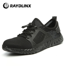 RAYDLINX Smash-proof puncture-proof wear-resistant breathable lightweight and fashionable safety shoes