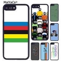 MaiYaCa Mountain Bike ciclismo art Cover per telefono per iPhone 5 6S 7 8 plus 11 12 Pro X XR XS Max Samsung Galaxy S8 S9 S10 plus