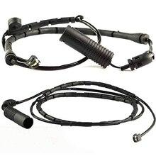 2 шт передние+ задние дисковые Тормозные колодки датчик износа 34351164371 для BMW 3 серии E46 34351164372