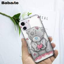 Babaite Beste Tatty Teddy Silicone Case Voor Iphone 5 S Se 6 6 S 7 8 Plus X Xs Max xr 11 Pro Max Mobiele Telefoon Accessoires(China)