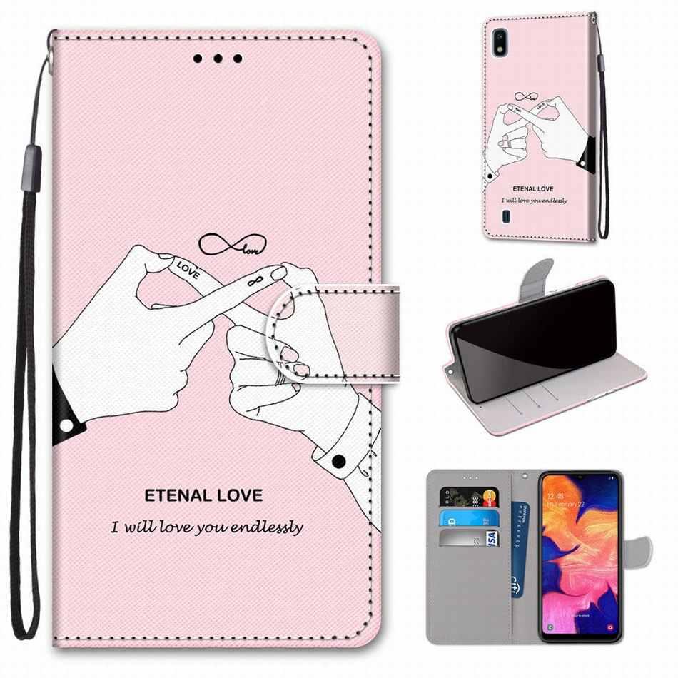 Boys Girls Kids Lovely Phone Bags For Case LG K8 2018 K9 K50 Q6 Plus Q60 Animal Flower Tower Butterfly Dog Cat Kitten Cover D08F