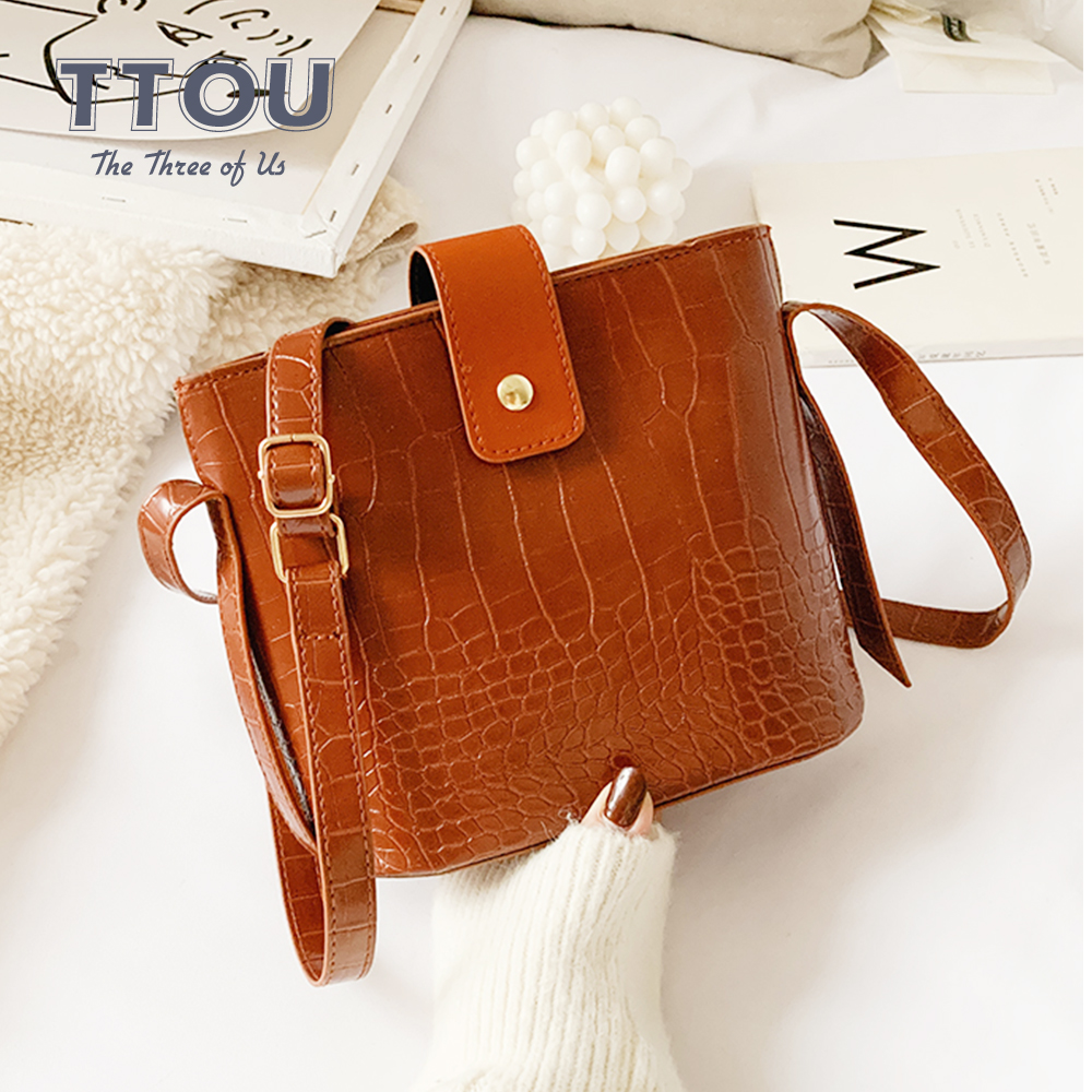 Luxury Genuine Leather Clutch Small Shoulder Bags Crocodile Pattern Crossbody Bag For Women Hot Sale Retro Messenger Purse Bag