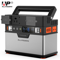 ALLPOWERS 110V Power Bank 372W Portable Generator Power Station AC/DC/USB/Type C Multiple Output UPS Power Battery.