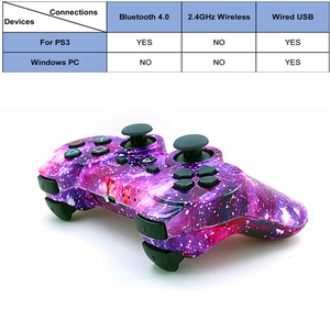 Image 3 - Kompatybilny Ps3 Gamepad kontroler Bluetooth Joystick wibrator SIXAXIS kompatybilny Playstation 3 bezprzewodowy pad do gier ps3