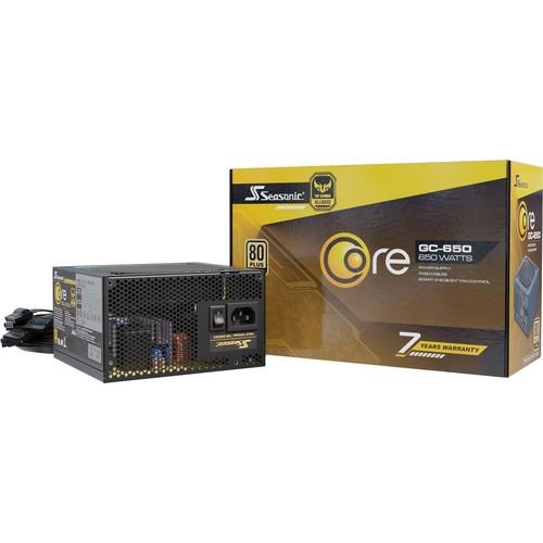 Seasonic Core GC-650 650W 80Plus Gold блок питания ATX-Питание (SSR-650LC)