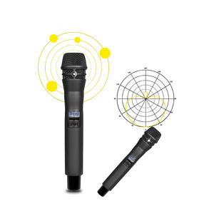Image 4 - New!High Quality UHF KSM8 Professional Dual Wireless Microphone System stage performances a two wireless microphone
