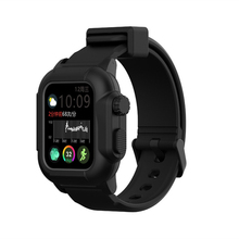 For Apple Watch 4 Waterproof Case Diving Swimming Shockproof Silicone Strap+Case