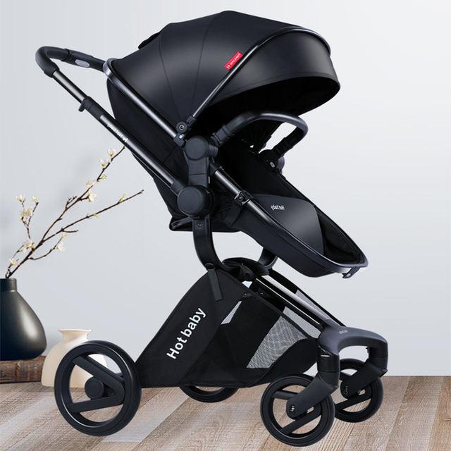 Baby Stroller Luxury 2 in 1 Stroller 2020 New