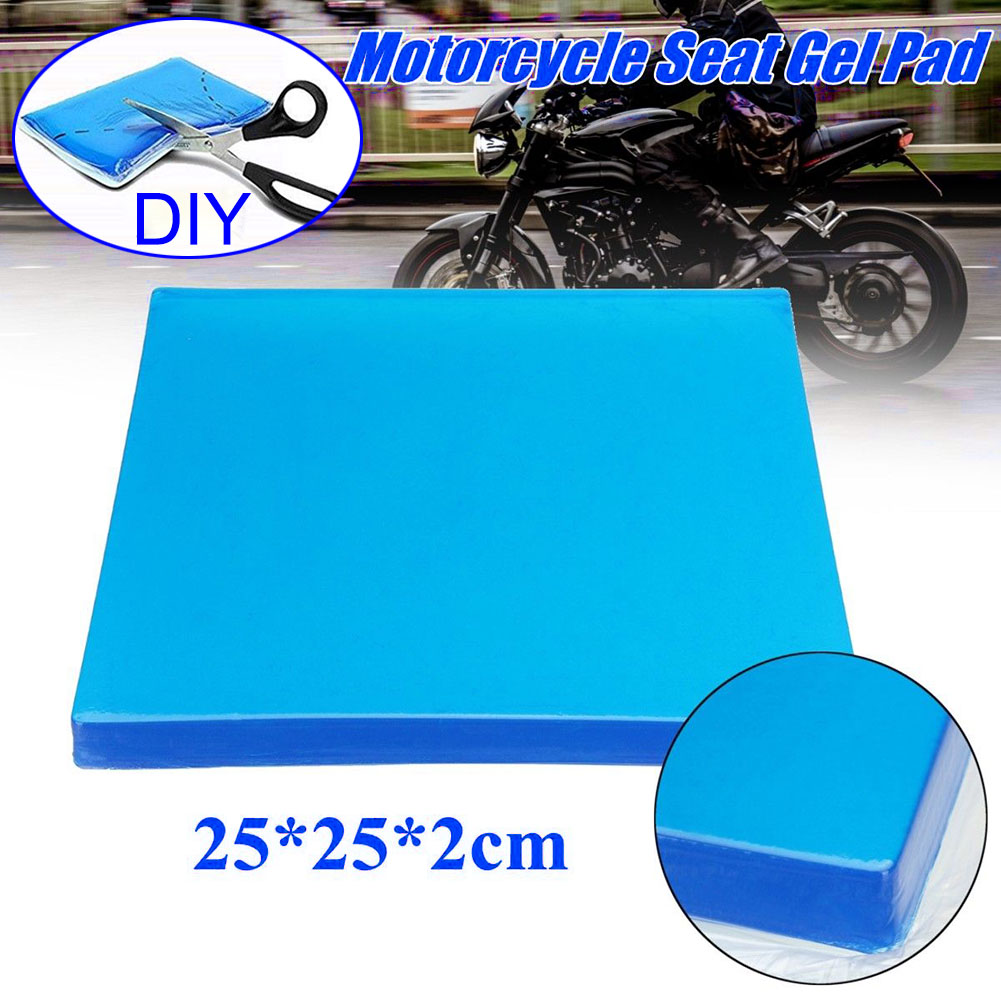 dropshipping Comfort Motorcycle Seat Gel Pad Shock Absorption Mats Cushion Accessories OE88