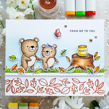 Cartoon Animal Bear Clear Stamp Or stamp for DIY Scrapbooking/Card Making/Kids Fun Decoration Supplies Clear Stamps New 2019 lovly cartoon bear design silicon stamps scrapbooking stamp for kids diy paper card wedding gift christmas gift poto albumcl 032
