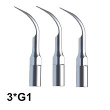 Dental Tools 3 Pcs G2 Dental Cleaning Tips For EMS Woodpecker Ultrasonic Scaler Handpiece Scaler Dental Ultrasonic Scaler Tools 2018 new dental ultrasonic scaler handpiece woodpecker detachable handpiece for ems woodpecker dte satelec scaler deasin