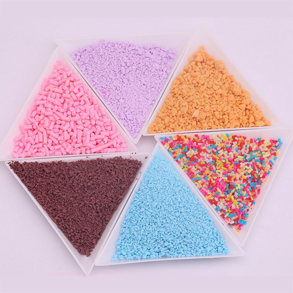 DIY Colorful Simulation Resin Fimo Polymer Clay Cream Gum Gel DIY Simulated Food Ornament Bread Crumbs Beauty