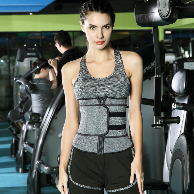Waist Trainer Corset Cincher Sauna Sweat Faja Sport Girdle Slimming Shaper Abdominal Trimmer Belt Modeling Posture Corrector