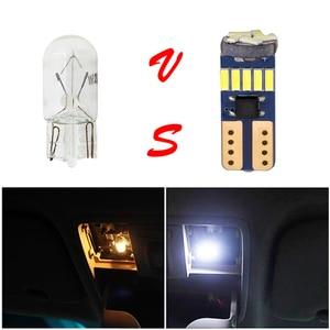 Image 4 - 600 sztuk T10 W5W żarówki Canbus 194 LED 4014 SMD 15 LED żarówki biała bezawaryjna samochodowa Auto Wedge wewnętrzna lampka Dome mapa Trunk lampa 12V