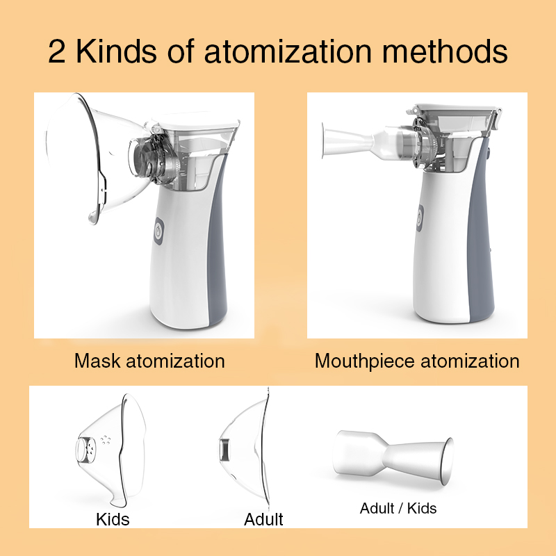 BGMMED Medical Nebulizer Machine with Automatic Cleaning Mode for Prevention of Viral Infection 4